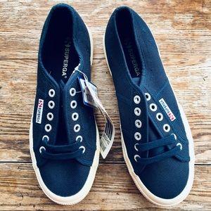 Superga—Cotu Classic Sneaker #2750 Navy (8W/6.5M)